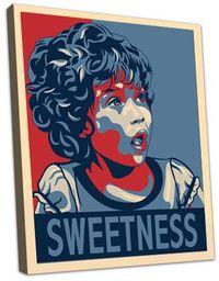 Sweet girl Fairey style 8x10 Eilon_2