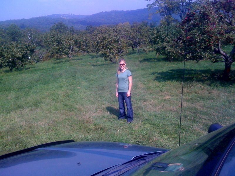 Right now:  apple picking!